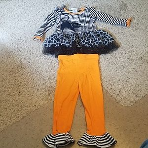Bonnie Jean Halloween Outfit 3T NWOT